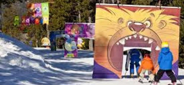 Развлечения в снегу в Испании